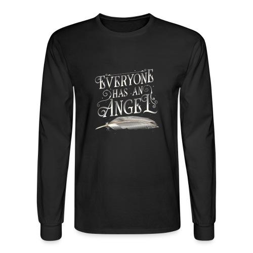 Everyone has an Angel - Men's Long Sleeve T-Shirt