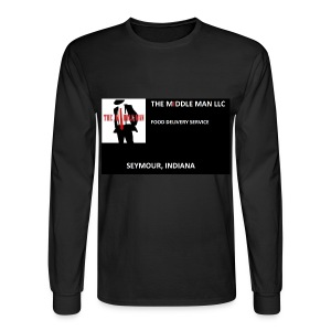 The Middle Man FDS Logo - Men's Long Sleeve T-Shirt