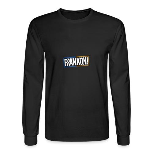PrankON Logo - Men's Long Sleeve T-Shirt