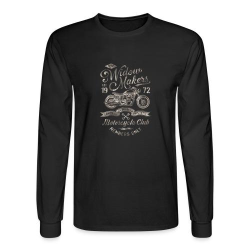Vintage Motorcycle Club - Men's Long Sleeve T-Shirt