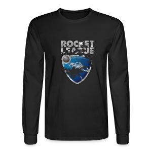 Rocket League Grunge T-Shirt - Men's Long Sleeve T-Shirt