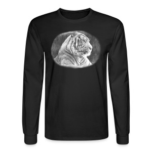 Tiger Sketch - Men's Long Sleeve T-Shirt