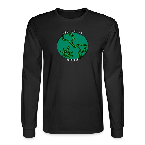 The EARTH is flat?! - Men's Long Sleeve T-Shirt