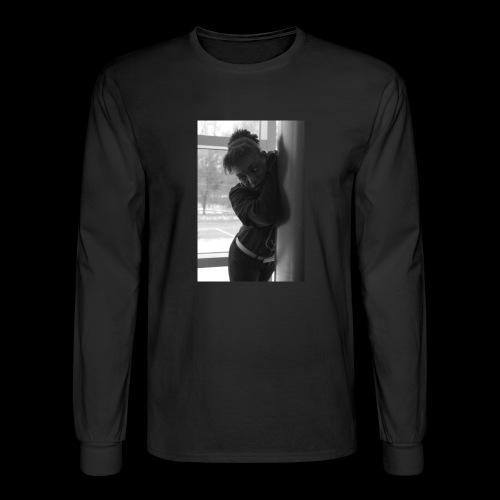Peachy model - Men's Long Sleeve T-Shirt
