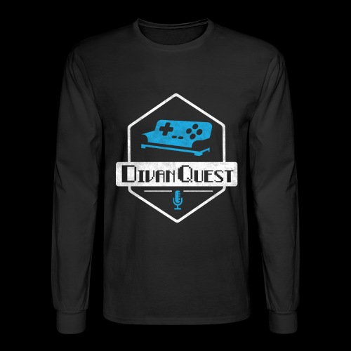 DivanQuest Logo (Badge) - Men's Long Sleeve T-Shirt