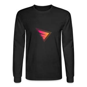 Logo IteX with another background logo - Men's Long Sleeve T-Shirt