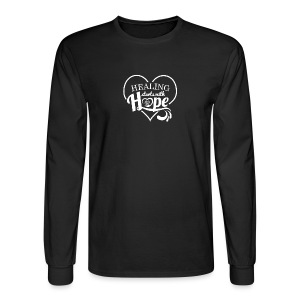 Healing with Hope - Men's Long Sleeve T-Shirt