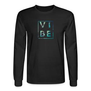 Palm Tree Vibe - Men's Long Sleeve T-Shirt