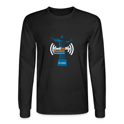 Paul in Rio Radio - The Thumbs up Corcovado #2 - Men's Long Sleeve T-Shirt