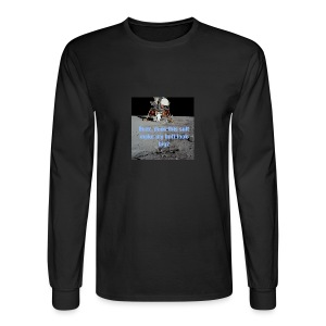 Does this Spacesuit make my butt look big? - Men's Long Sleeve T-Shirt