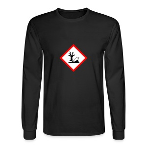 danger for the environment - Men's Long Sleeve T-Shirt