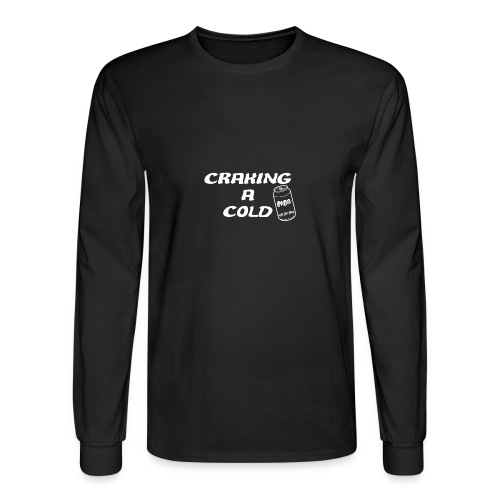 Craking A Cold One (With The Boys) - Men's Long Sleeve T-Shirt