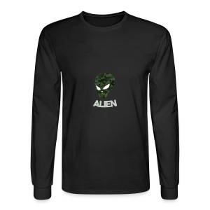 Military Alien - Men's Long Sleeve T-Shirt