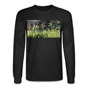 Baboon post - Men's Long Sleeve T-Shirt
