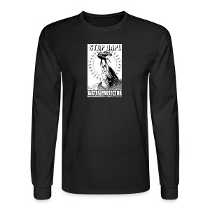 STOP DAPL Water Protector - Men's Long Sleeve T-Shirt
