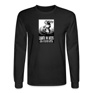 Lakota No Access, Stop the Black Snake, NODAPL - Men's Long Sleeve T-Shirt