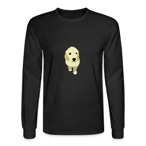 Golden Retriever puppy - Men's Long Sleeve T-Shirt