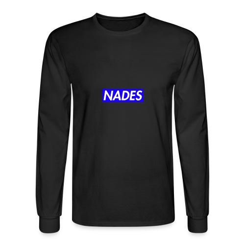 Nades Signature Merchandise - Men's Long Sleeve T-Shirt