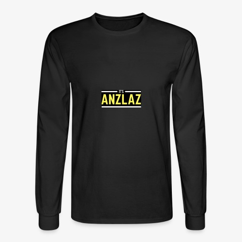 Anzlaz | Yellow Dize - Men's Long Sleeve T-Shirt