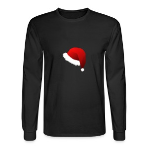 Carmaa Santa Hat Christmas Apparel - Men's Long Sleeve T-Shirt