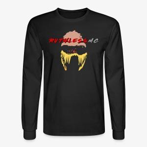 ruthless mc color logo t shirt - Men's Long Sleeve T-Shirt
