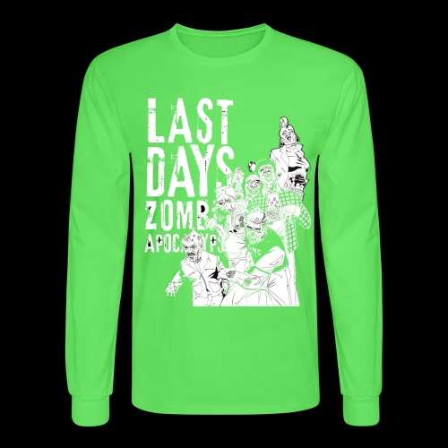 Last Days GMG Crew - Men's Long Sleeve T-Shirt