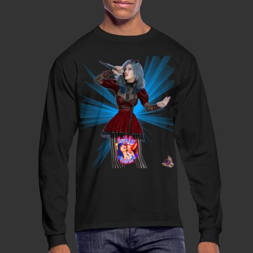 Happily Ever Undead: Alicia Abyss Singer - Men's Long Sleeve T-Shirt