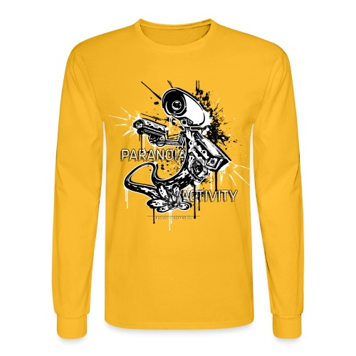 Paranoia Activity - Men's Long Sleeve T-Shirt