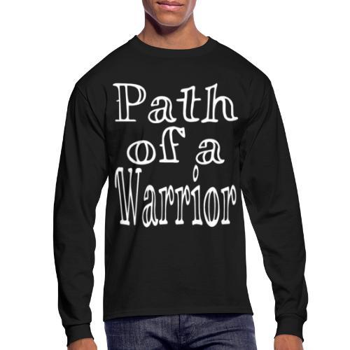 Path of a Warrior - Men's Long Sleeve T-Shirt