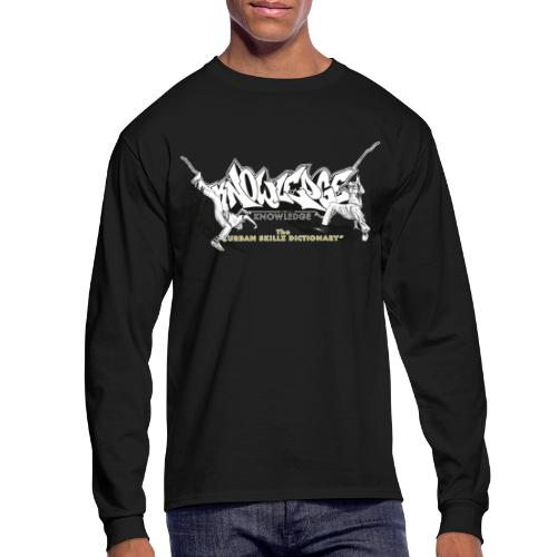 KNOWLEDGE - the urban skillz dictionary - promo sh - Men's Long Sleeve T-Shirt
