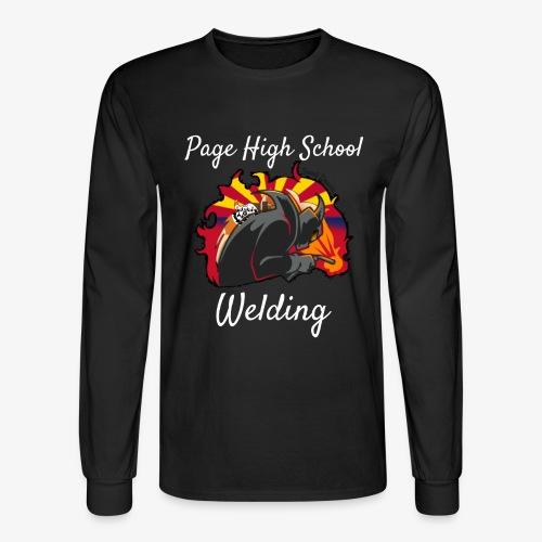 2018 Welding Logo 2 - Men's Long Sleeve T-Shirt