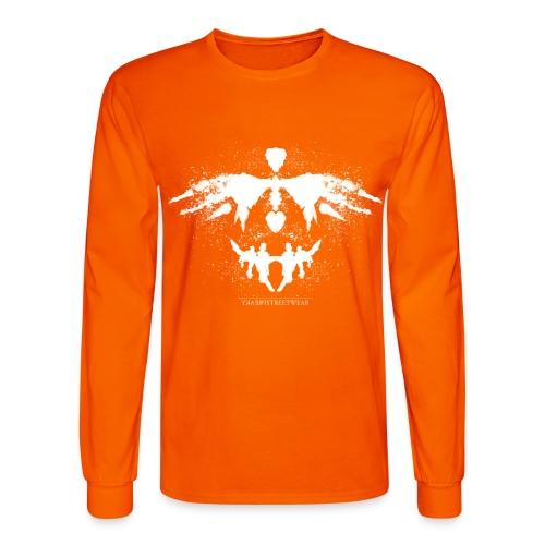 Rorschach_white - Men's Long Sleeve T-Shirt