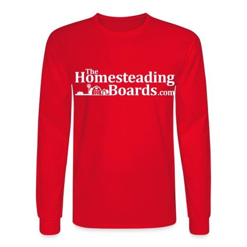 THB Black Logo BW 02 png - Men's Long Sleeve T-Shirt