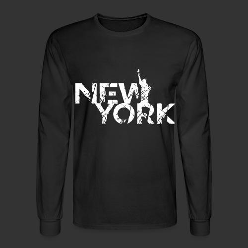 New York (Flexi Print) - Men's Long Sleeve T-Shirt