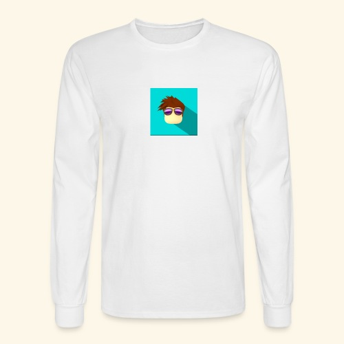 NixVidz Youtube logo - Men's Long Sleeve T-Shirt