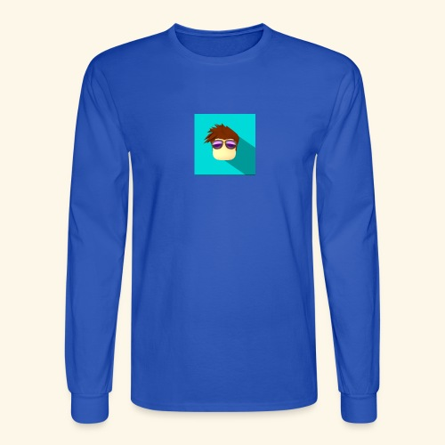 NixVidz Youtube logo - Men's Long Sleeve T-Shirt