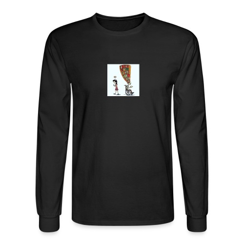 Less mobile more books - Men's Long Sleeve T-Shirt