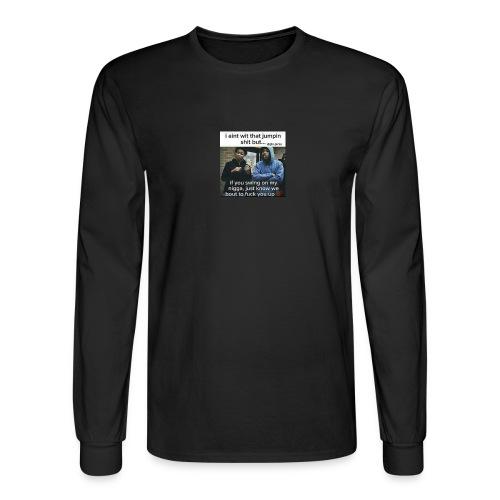 Friends down for friends - Men's Long Sleeve T-Shirt