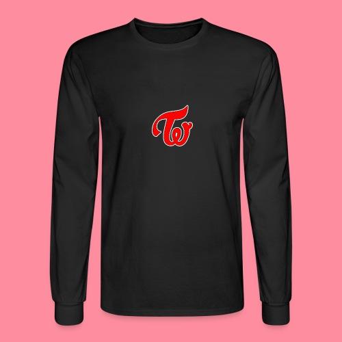 TWICE Logo - Men's Long Sleeve T-Shirt