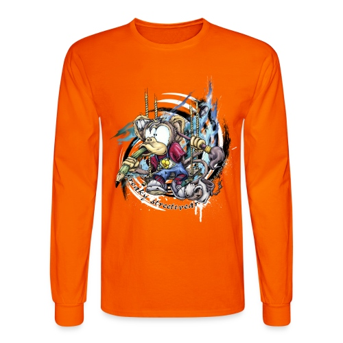 the graphic monkey - Men's Long Sleeve T-Shirt