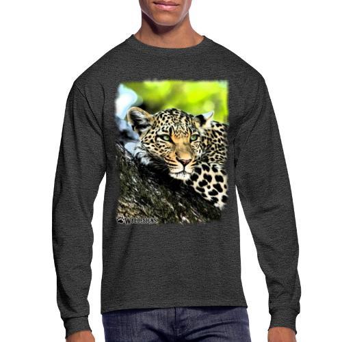Leopard On A Tree - Men's Long Sleeve T-Shirt