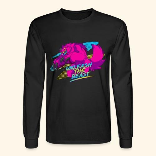 - Unleash the Beast - - Men's Long Sleeve T-Shirt