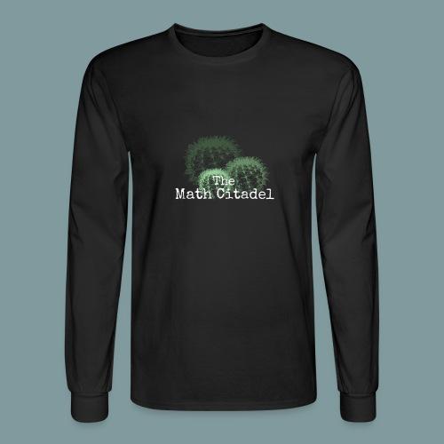 Math Citadel Cactus Trio - Men's Long Sleeve T-Shirt