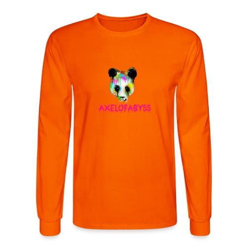 Axelofabyss panda panda paint - Men's Long Sleeve T-Shirt