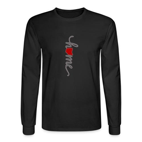 Ohio Heart Home - Men's Long Sleeve T-Shirt