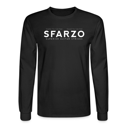 Sfarzo-logo_WonB - Men's Long Sleeve T-Shirt