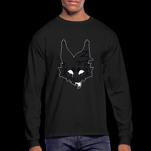 kitty candle-wax - Men's Long Sleeve T-Shirt