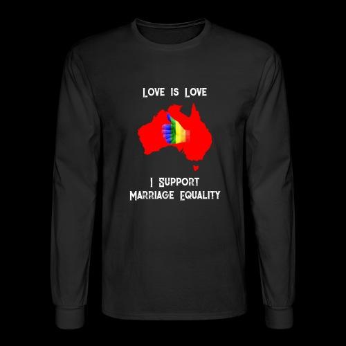 Love Is Love 3 - Men's Long Sleeve T-Shirt