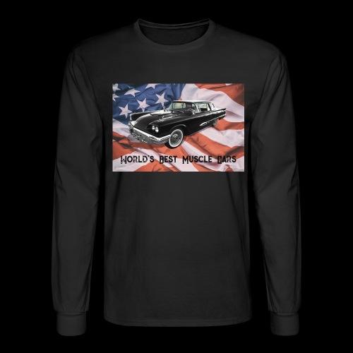 World's Best Muscle Cars - Men's Long Sleeve T-Shirt