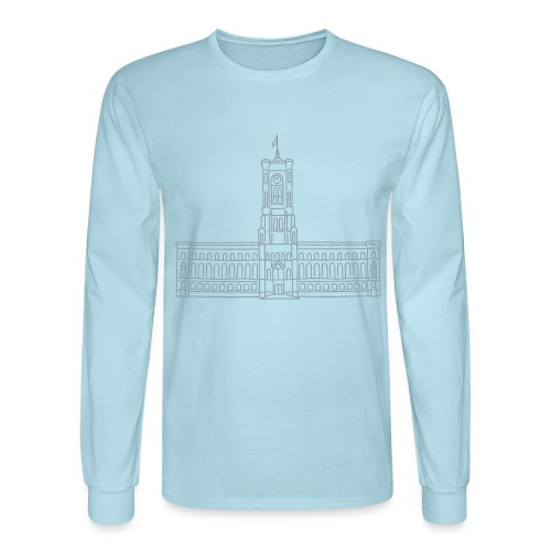 Red City Hall Berlin - Men's Long Sleeve T-Shirt